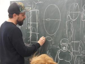 ANIMATION KIÉRAN AVEC L'ESPACE JEUNE